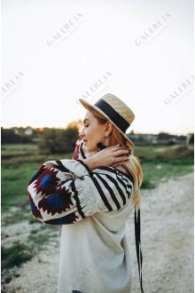 Ексклюзивна вишита жіноча блузка «Бохо»