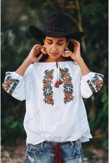 Жіноча вишита блузка «ГВ»