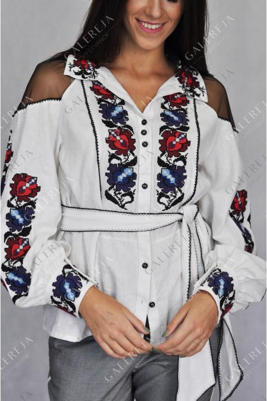 Жіноча вишита блузка «Борщівка»