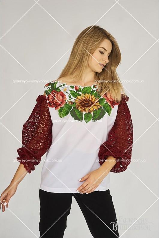 Ексклюзивна жіноча блузка «Соняшник»