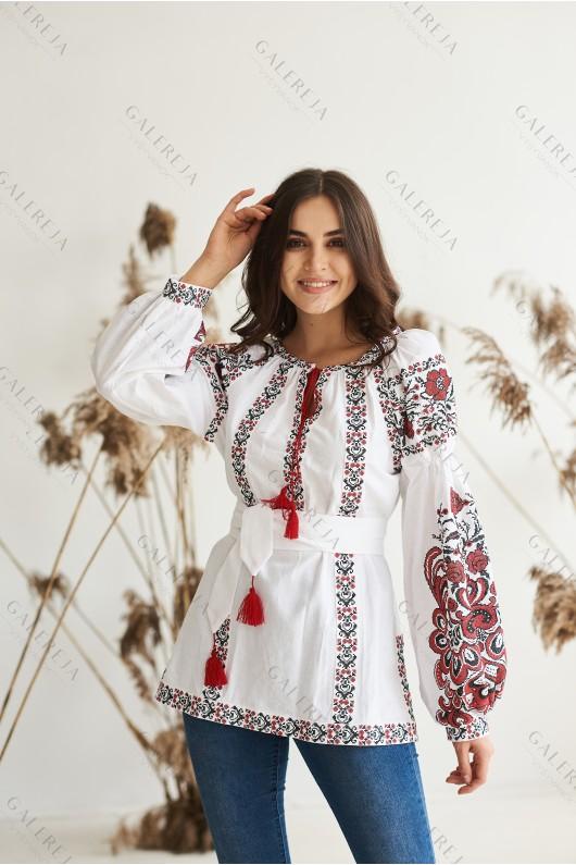 Жіноча вишита блузка  «Людмила»