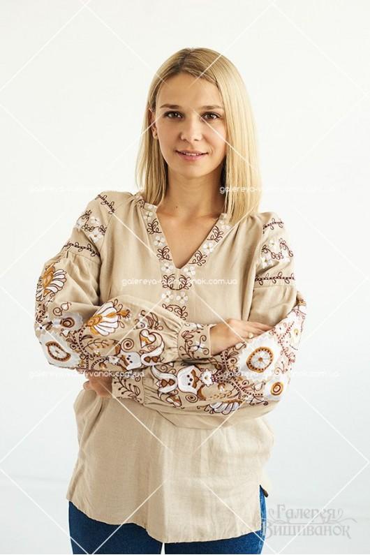Жіноча вишита блуза «Дерево життя»