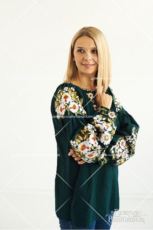 Жіноча вишита блузка «Вікторія»