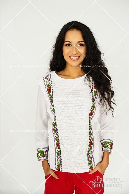Ексклюзивна жіноча блузка «Вишукана»