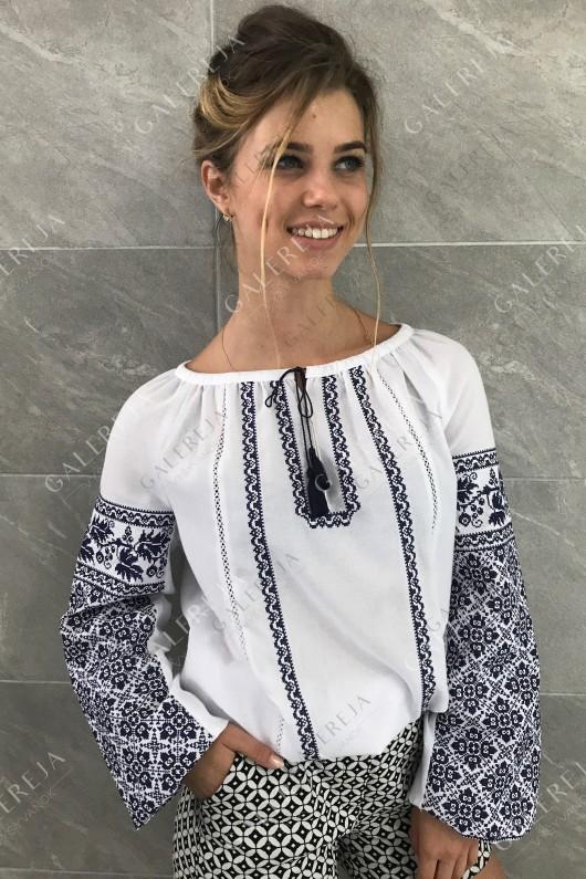 Жіноча вишита блузка «ГВ2172»