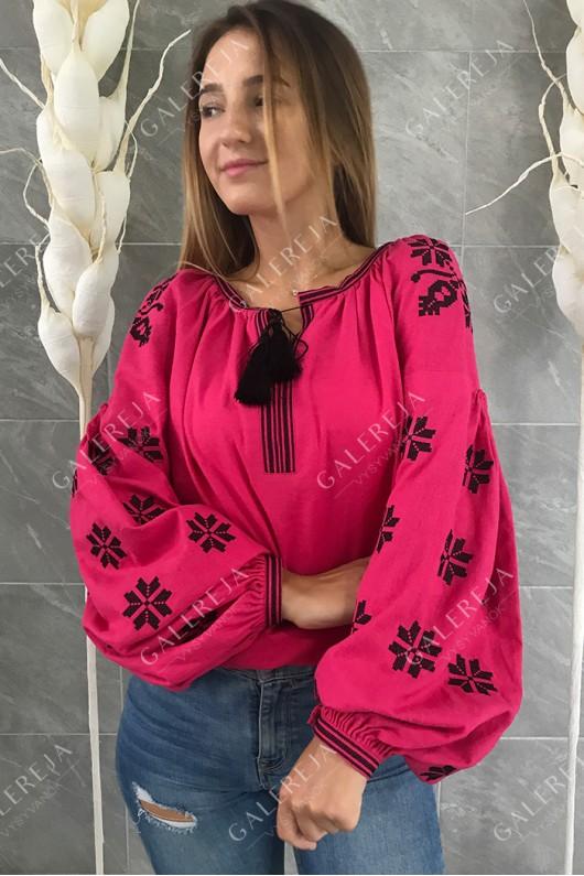 Жіноча вишита блузка «Зірки»