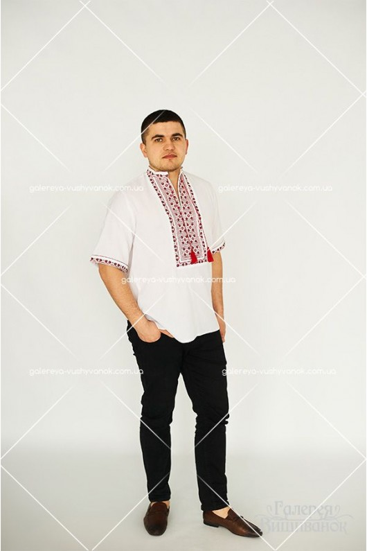 Чоловіча сорочка «Кирило» та жіноча блузка «Катерина»