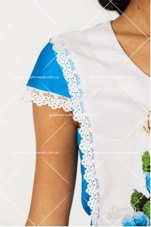 Ексклюзивна сукня «Троянди-бісер»