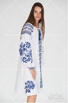 Сукня «Синя троянда»
