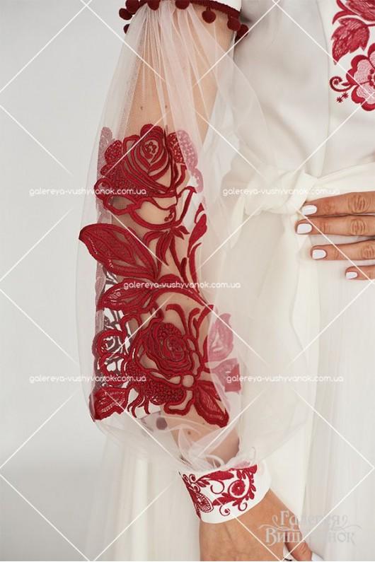Сукня «Барвінок-фатин»