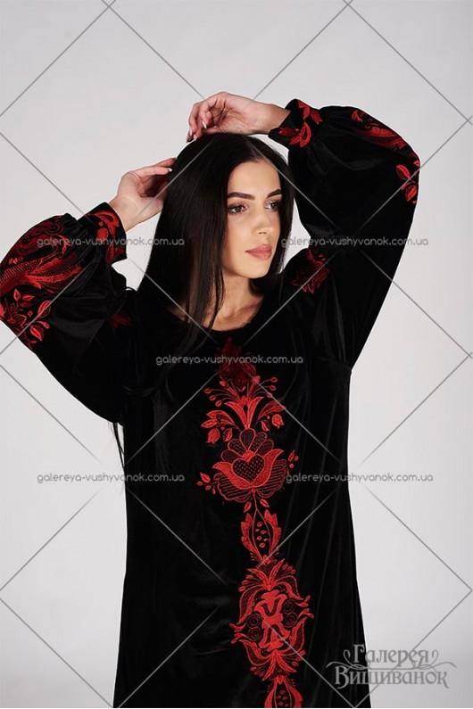 Сукня «Птаха-оксамит»