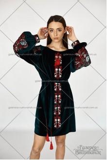 Сукня «Оксамитовий барвінок»