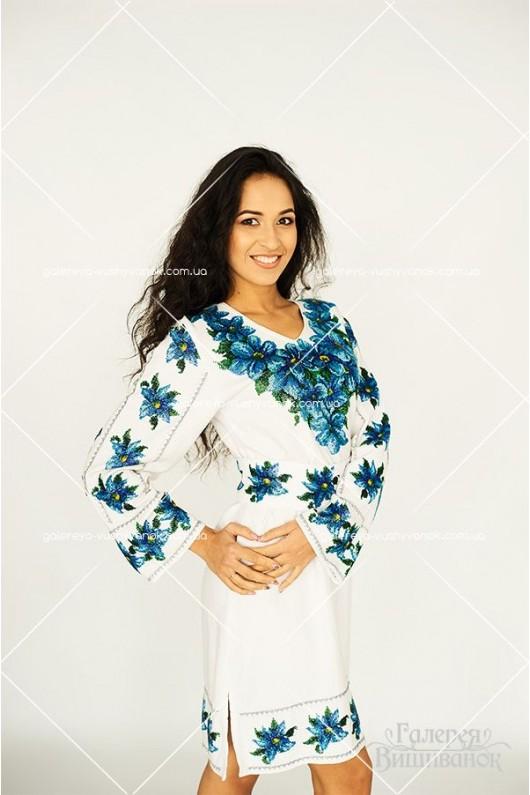 Ексклюзивна сукня «Голубі лілії