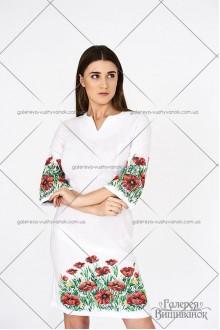 Сукня «Макове поле»