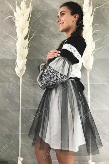 Сукня вишита  «Геометрія фатин»