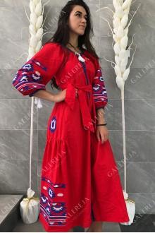Сукня вишита «Геометрія»