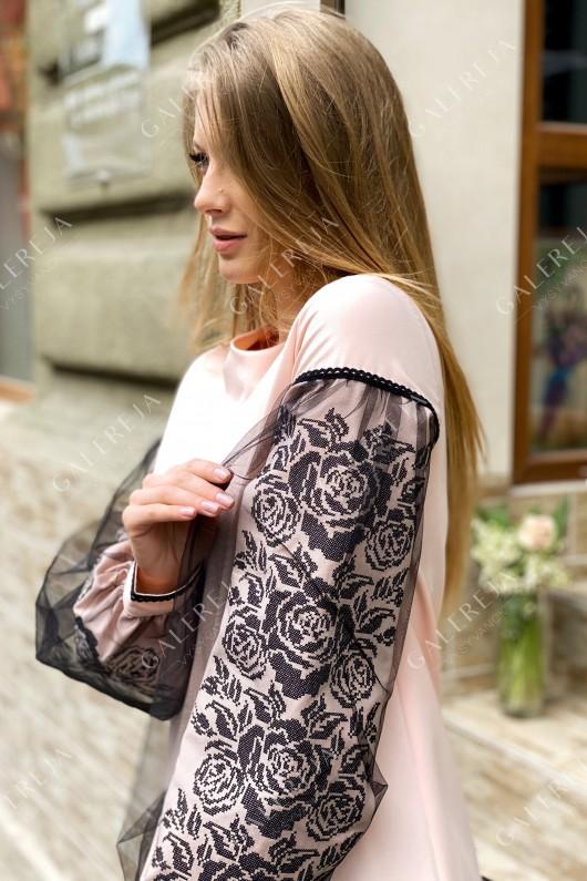 Сукня вишита  «Ружа фатин»