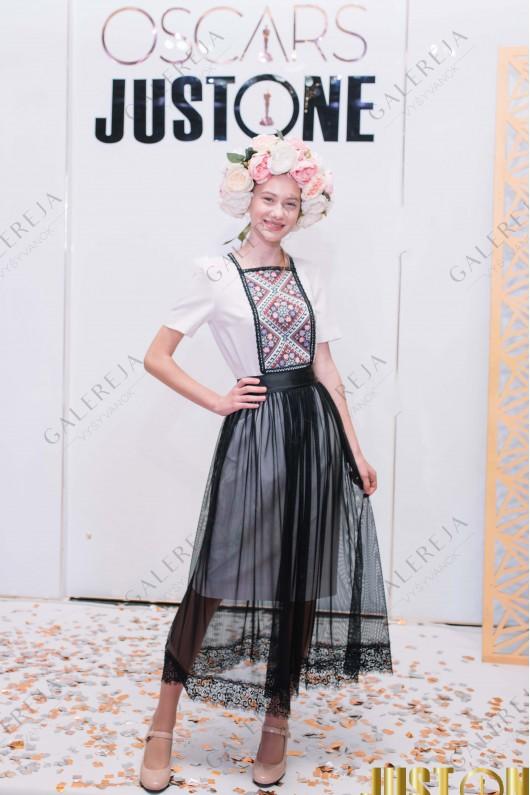 Жіноча вишита сукня «Класична фатин»