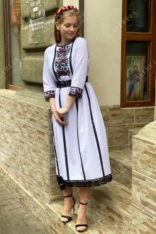 Жіноча вишита сукня «Борщівська»