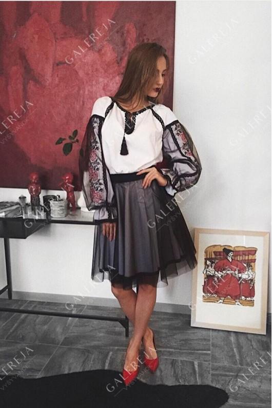 Сукня вишита  «Роза фатин»