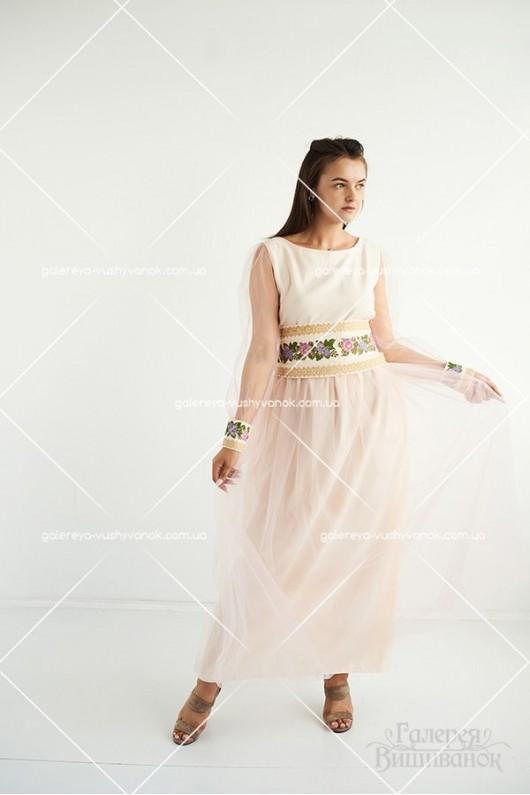Сукня «Вечірні троянди»