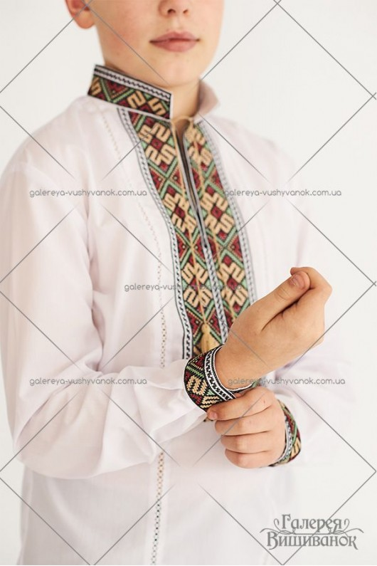 Рубашка для мальчика «ГВ3471»