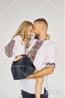 Мужская рубашка «ГВ1191» и блузка для девочки «ГВ4191»