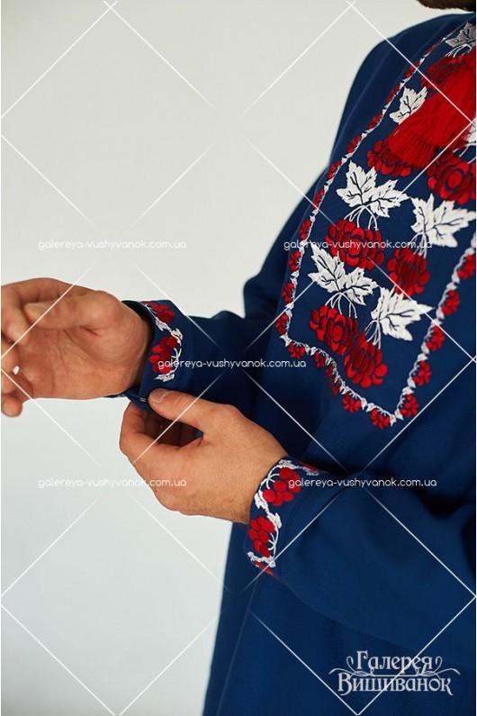 Чоловіча сорочка та жіноча сукня «Калина»