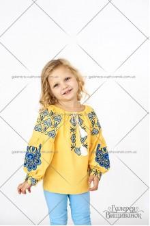 Блузка для девочки «Патриотическая»
