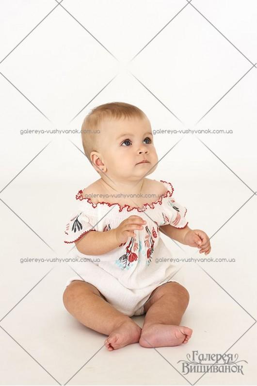 Платье для девочки «Весенние цветы»