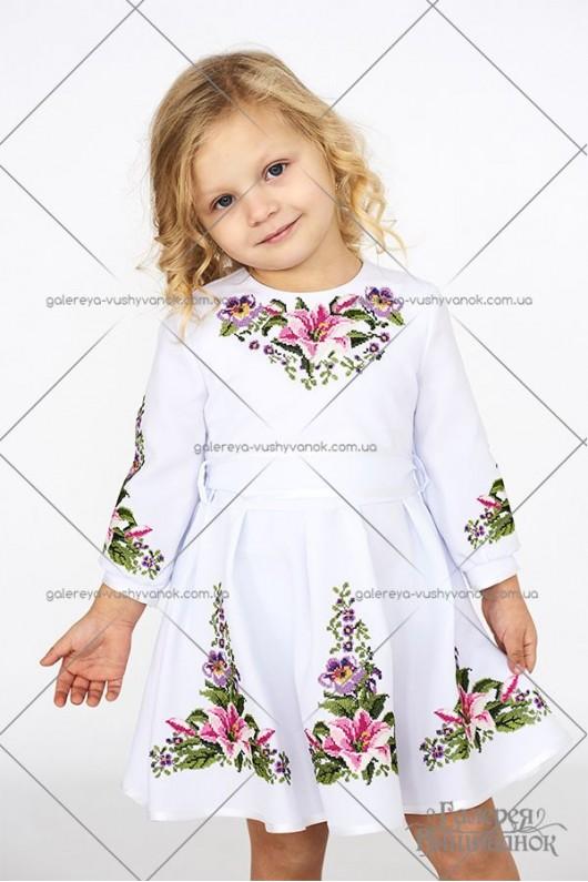 Платье для девочки «Лилия»