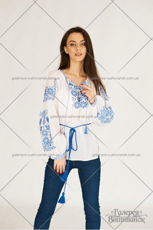 Женская блузка «Жар-птица»